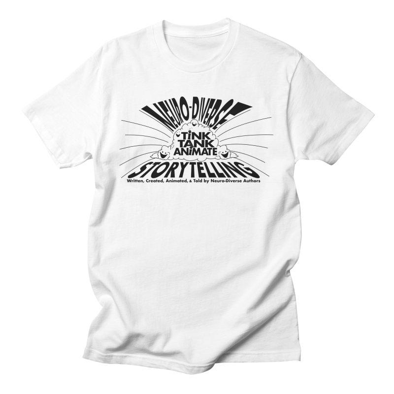 Tink Tank Neuro-Diverse Cloud Men's T-Shirt by Tink Tank Animate