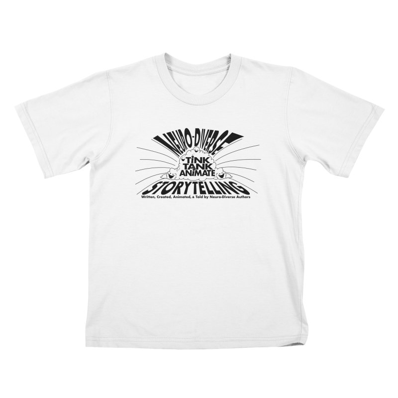 Tink Tank Neuro-Diverse Cloud Kids T-Shirt by Tink Tank Animate