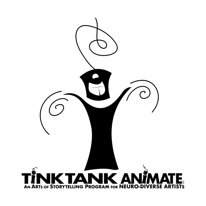 Tink Celebrates from Tink Tank Animate Men's Sweatshirt by Tink Tank Animate