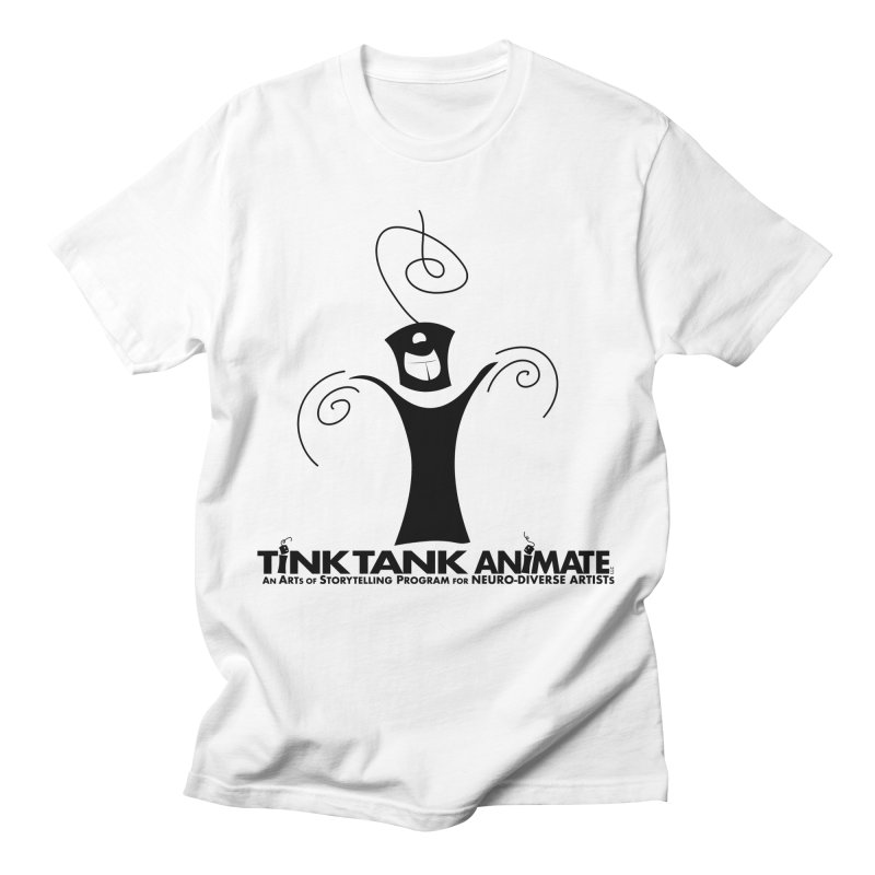Tink Celebrates from Tink Tank Animate Men's T-Shirt by Tink Tank Animate