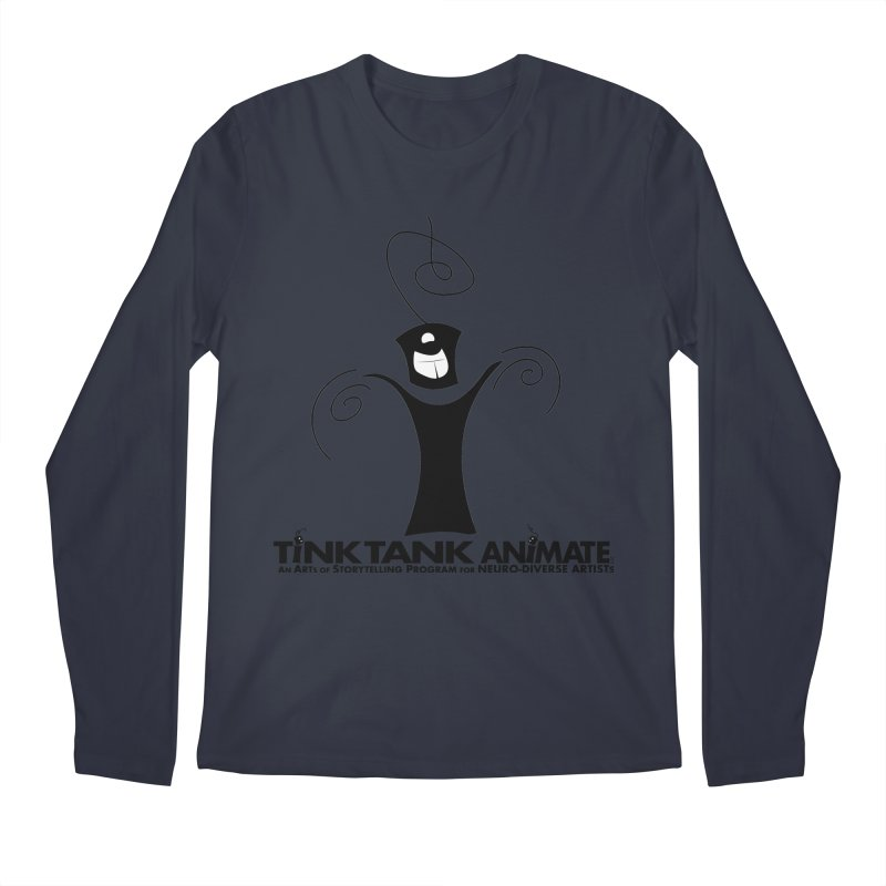 Tink Celebrates from Tink Tank Animate Men's Longsleeve T-Shirt by Tink Tank Animate
