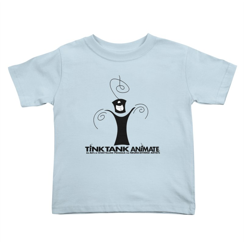 Tink Celebrates from Tink Tank Animate Kids Toddler T-Shirt by Tink Tank Animate