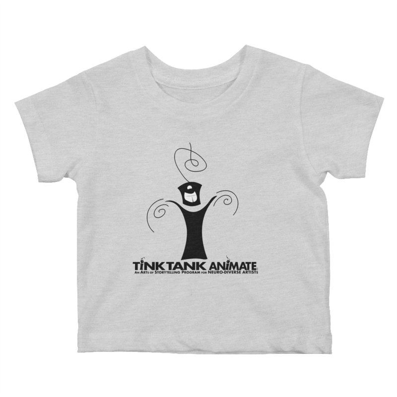 Tink Celebrates from Tink Tank Animate Kids Baby T-Shirt by Tink Tank Animate