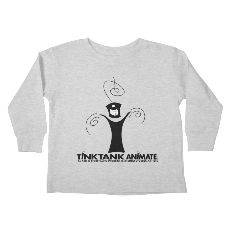 Tink Celebrates from Tink Tank Animate Kids Toddler Longsleeve T-Shirt by Tink Tank Animate