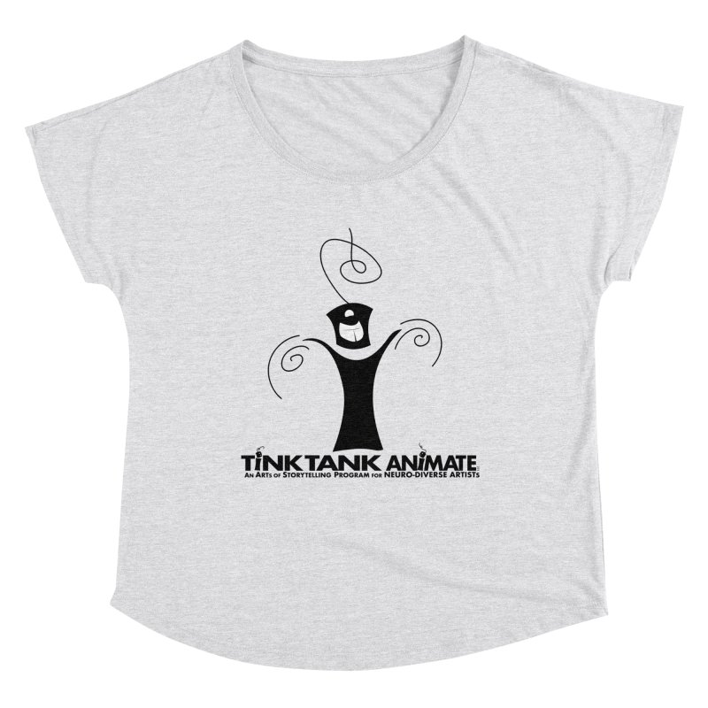Tink Celebrates from Tink Tank Animate Women's Scoop Neck by Tink Tank Animate