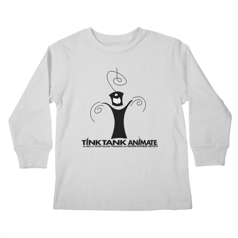 Tink Celebrates from Tink Tank Animate Kids Longsleeve T-Shirt by Tink Tank Animate