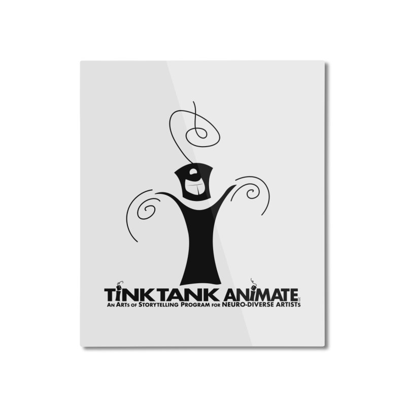Tink Celebrates from Tink Tank Animate Home Mounted Aluminum Print by Tink Tank Animate