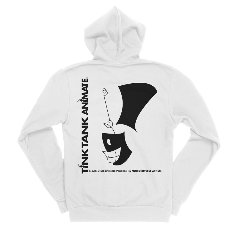 Tink Tank Animate - Tink Exclamation Point Men's Zip-Up Hoody by Tink Tank Animate