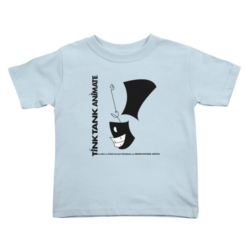 Tink Tank Animate - Tink Exclamation Point Kids Toddler T-Shirt by Tink Tank Animate