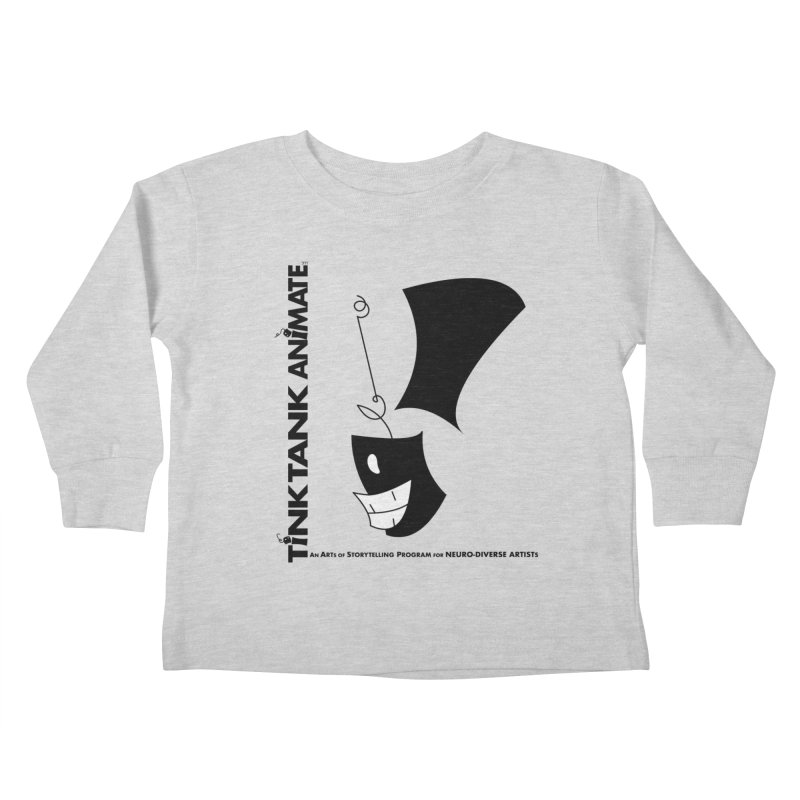 Tink Tank Animate - Tink Exclamation Point Kids Toddler Longsleeve T-Shirt by Tink Tank Animate