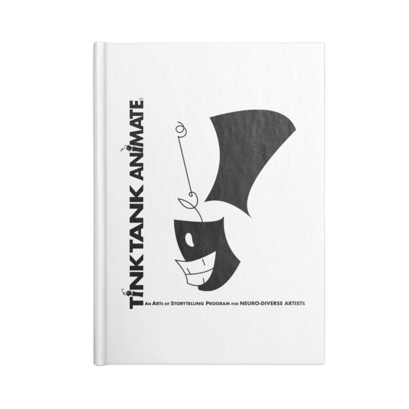 Tink Tank Animate - Tink Exclamation Point Accessories Notebook by Tink Tank Animate