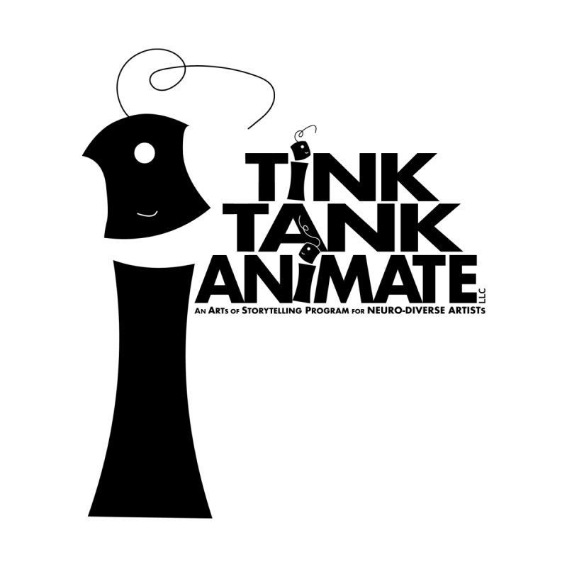 Tink Tank Animate - Tink Pyramid Men's T-Shirt by Tink Tank Animate