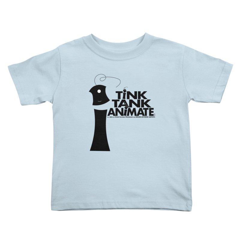 Tink Tank Animate - Tink Pyramid Kids Toddler T-Shirt by Tink Tank Animate