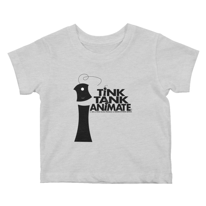 Tink Tank Animate - Tink Pyramid Kids Baby T-Shirt by Tink Tank Animate