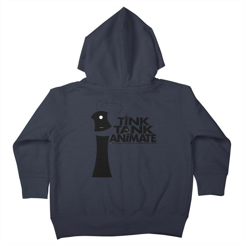 Tink Tank Animate - Tink Pyramid Kids Toddler Zip-Up Hoody by Tink Tank Animate
