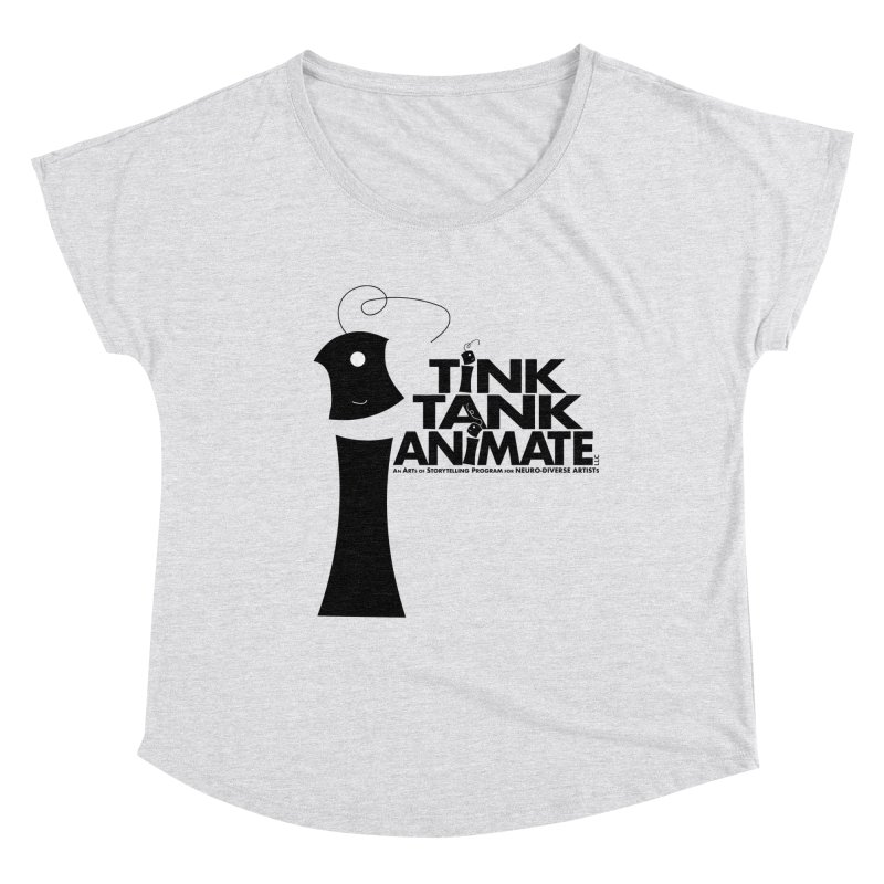 Tink Tank Animate - Tink Pyramid Women's Scoop Neck by Tink Tank Animate