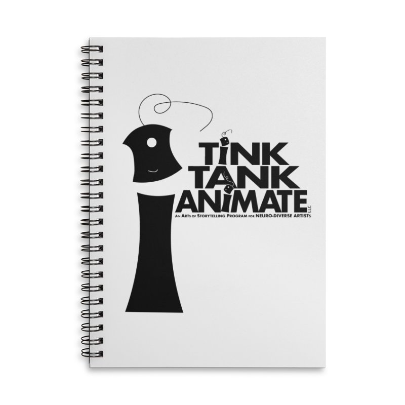 Tink Tank Animate - Tink Pyramid Accessories Notebook by Tink Tank Animate