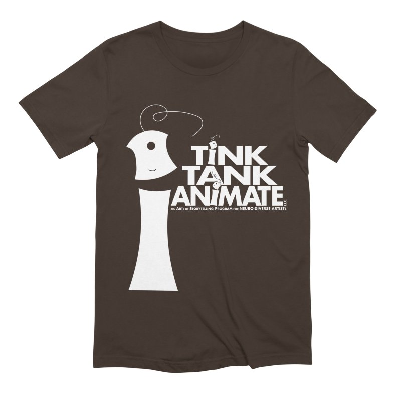 TInk Tank White Tink 01 Pyramid Men's T-Shirt by Tink Tank Animate