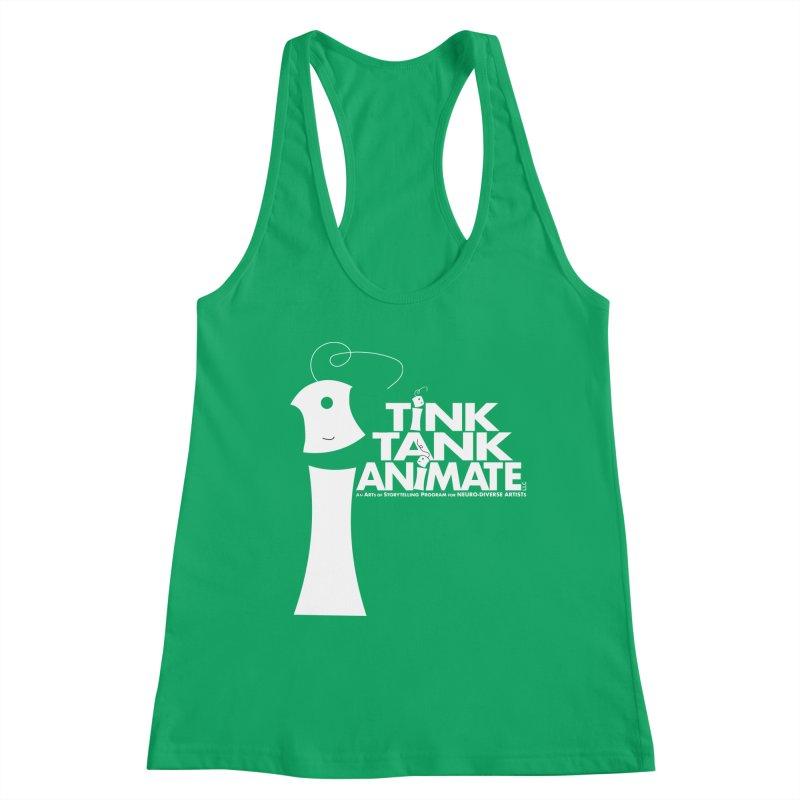 TInk Tank White Tink 01 Pyramid Women's Tank by Tink Tank Animate