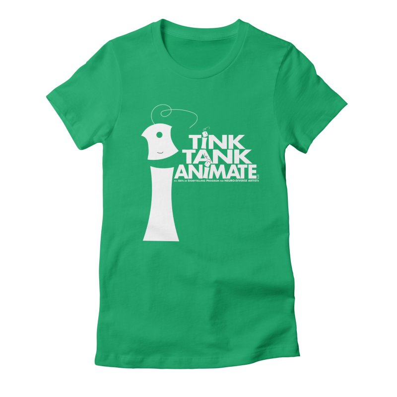 TInk Tank White Tink 01 Pyramid Women's T-Shirt by Tink Tank Animate