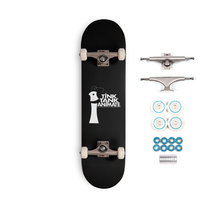 TInk Tank White Tink 01 Pyramid Accessories Skateboard by Tink Tank Animate