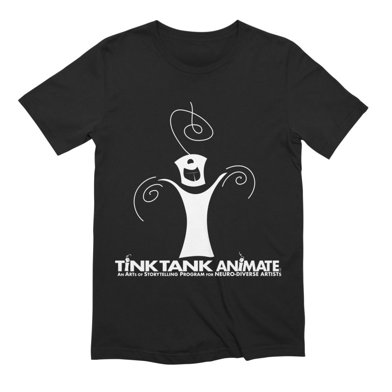 Tink Tank Animate - Tink 03 White Celebrate Men's T-Shirt by Tink Tank Animate