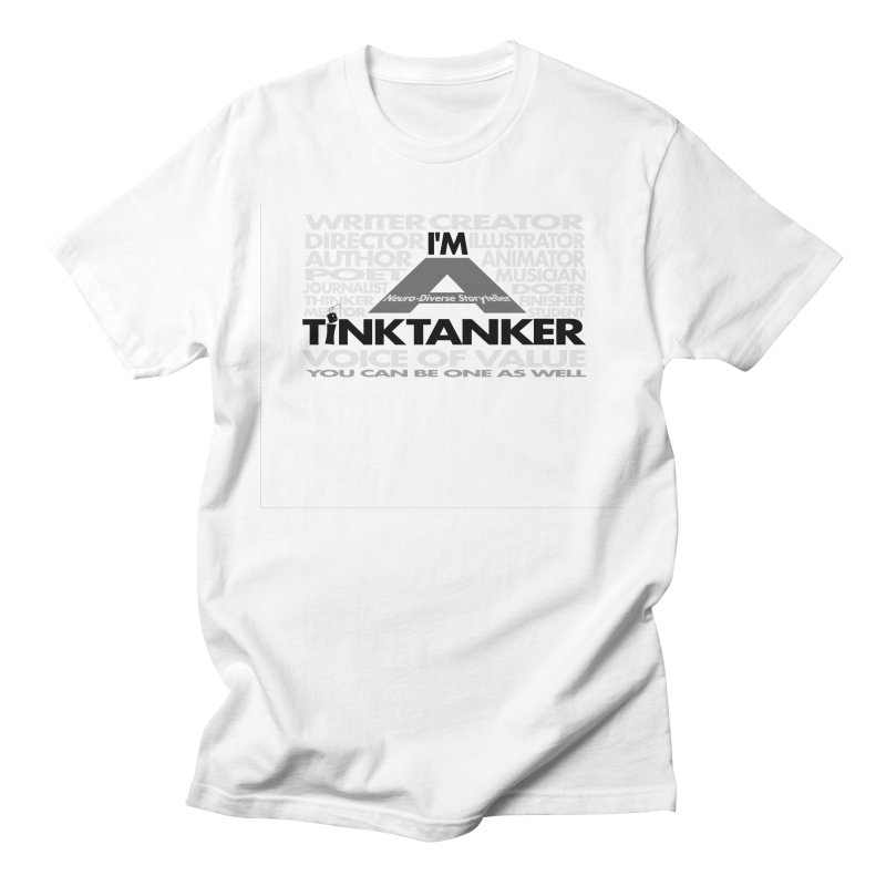 I'm a Neuro-Diverse Tink Tanker Mask Men's T-Shirt by Tink Tank Animate