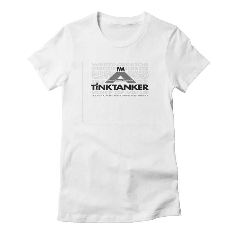 I'm a Neuro-Diverse Tink Tanker Mask Women's T-Shirt by Tink Tank Animate