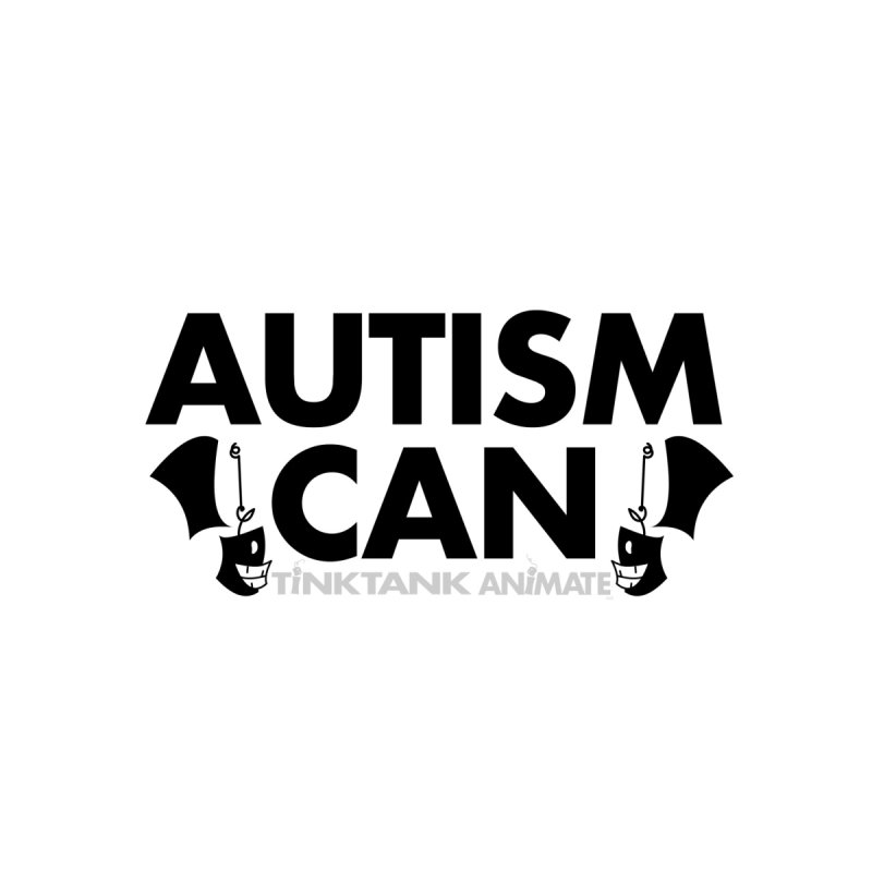Autism Can! Accessories Face Mask by Tink Tank Animate