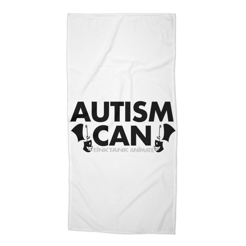 Autism Can! Accessories Beach Towel by Tink Tank Animate