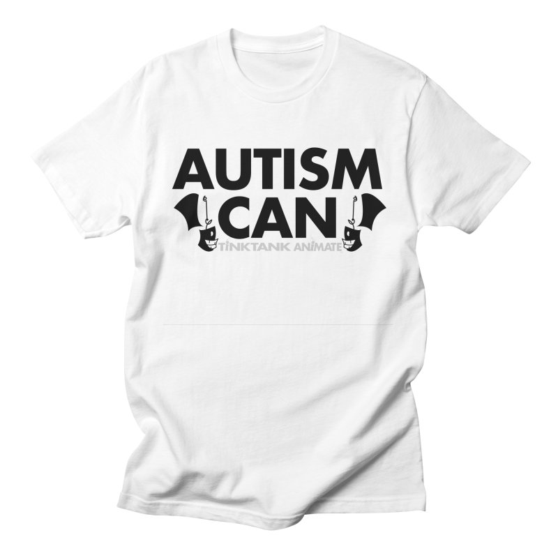 Autism Can! Men's T-Shirt by Tink Tank Animate