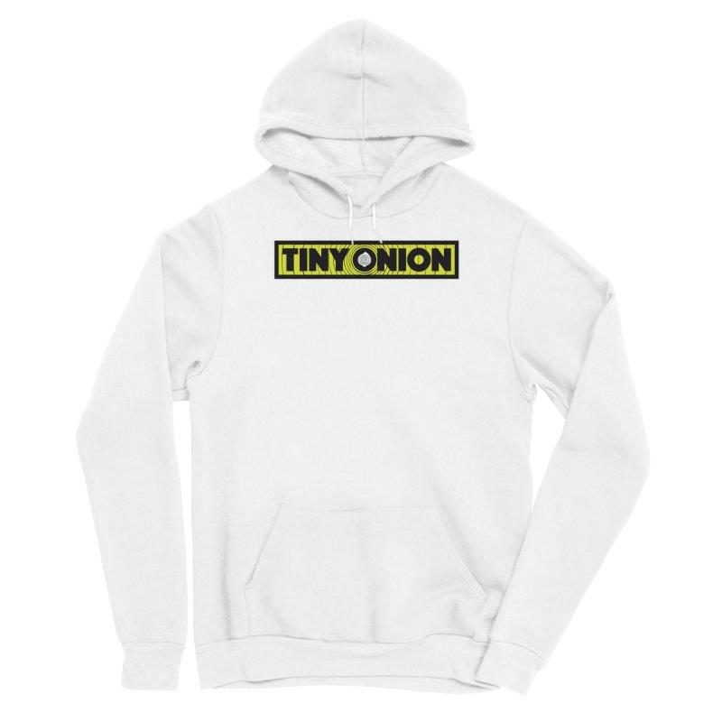 TINY ONION 001 - LOGO Women's Pullover Hoody by Tiny Onion Studios Apparel
