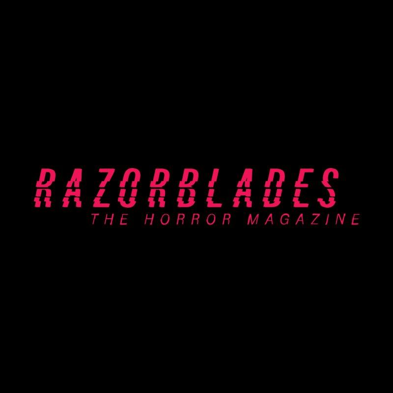RAZORBLADES 001 - LOGO PINK Men's T-Shirt by Tiny Onion Studios Apparel