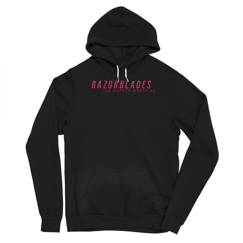 RAZORBLADES 001 - LOGO PINK Women's Pullover Hoody by Tiny Onion Studios Apparel