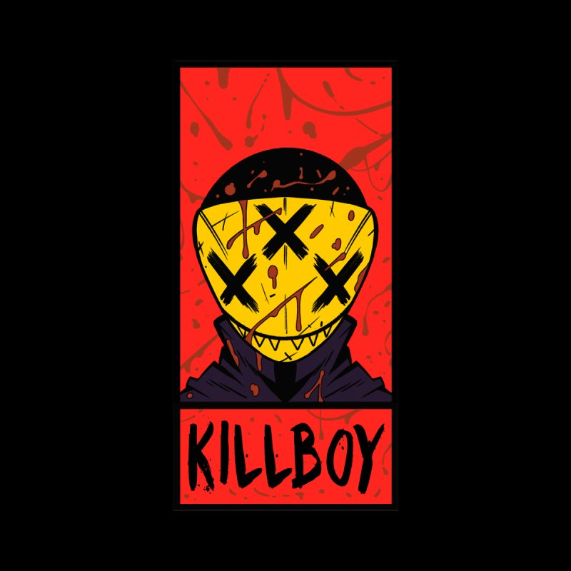 KILLBOY 001 - CORNERBOX RED Men's Tank by Tiny Onion Studios Apparel