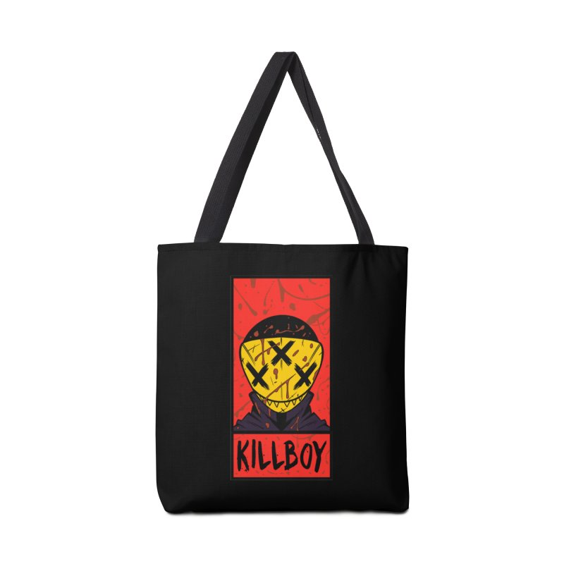 KILLBOY 001 - CORNERBOX RED Accessories Bag by Tiny Onion Studios Apparel