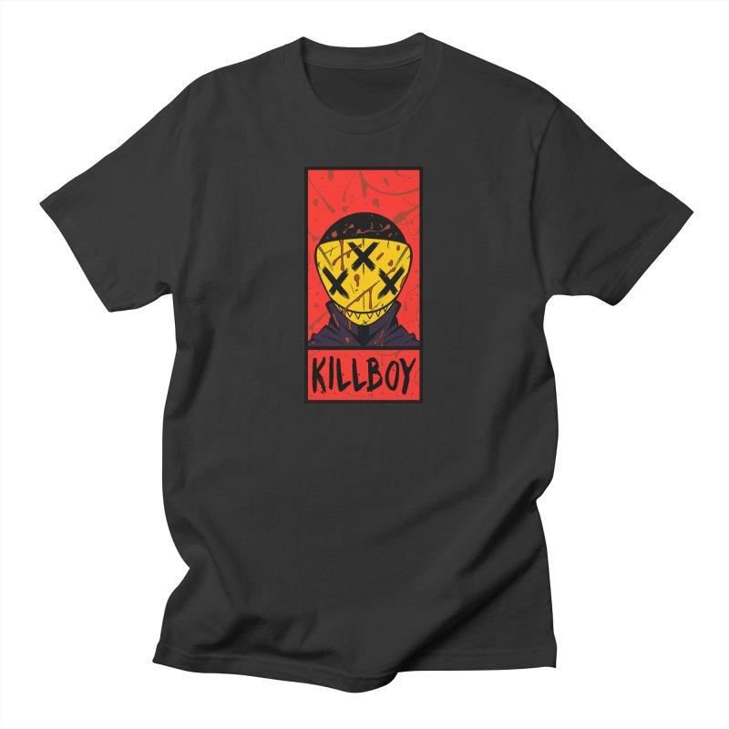 KILLBOY 001 - CORNERBOX RED Men's T-Shirt by Tiny Onion Studios Apparel