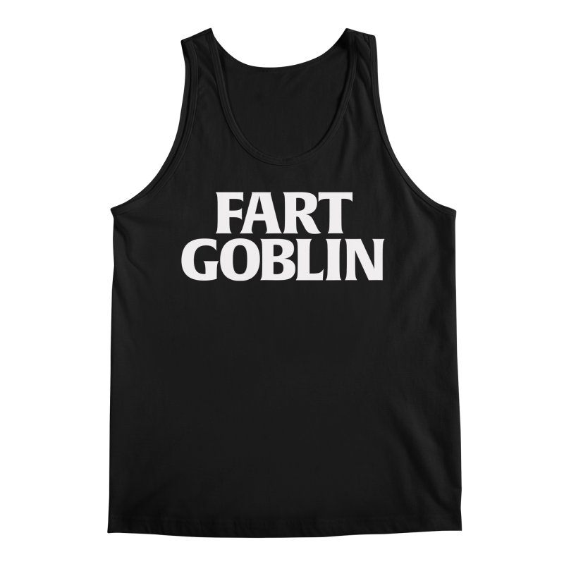 DEPARTMENT OF TRUTH 003 - FART GOBLIN WHITE Men's Tank by Tiny Onion Studios Apparel