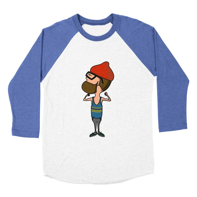 I want to be like Mike Men's Baseball Triblend T-Shirt by TinyT's Artist Shop