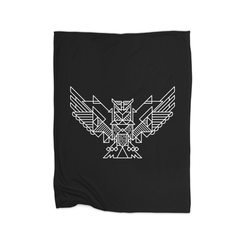 The Eagle Home Blanket by TipTop's Artist Shop