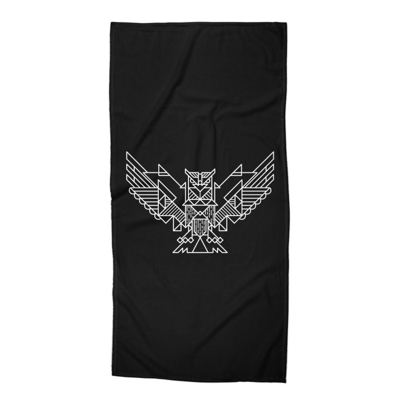 The Eagle Accessories Beach Towel by TipTop's Artist Shop