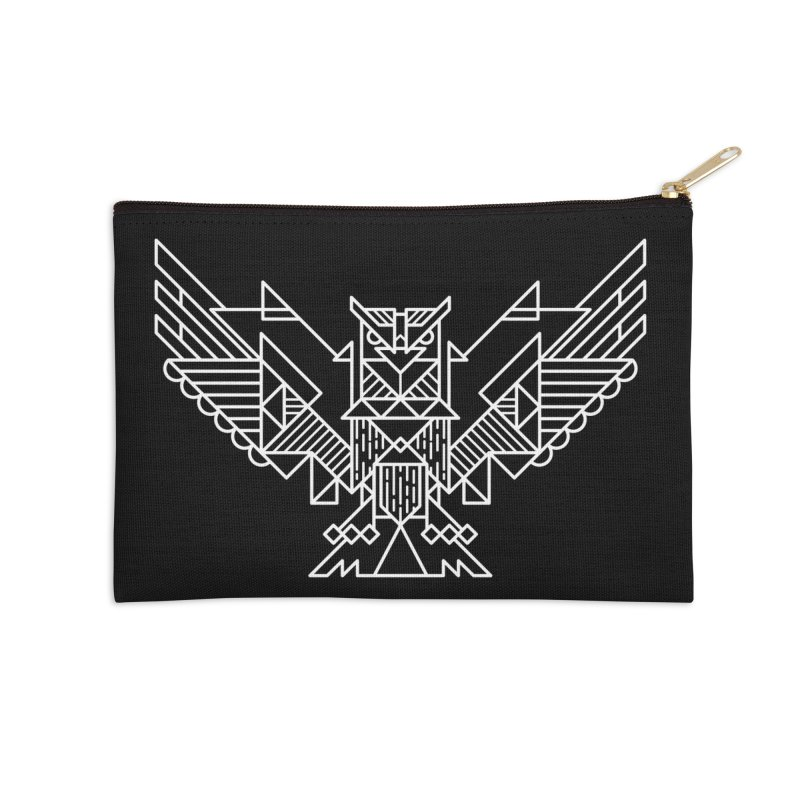 The Eagle Accessories Zip Pouch by TipTop's Artist Shop