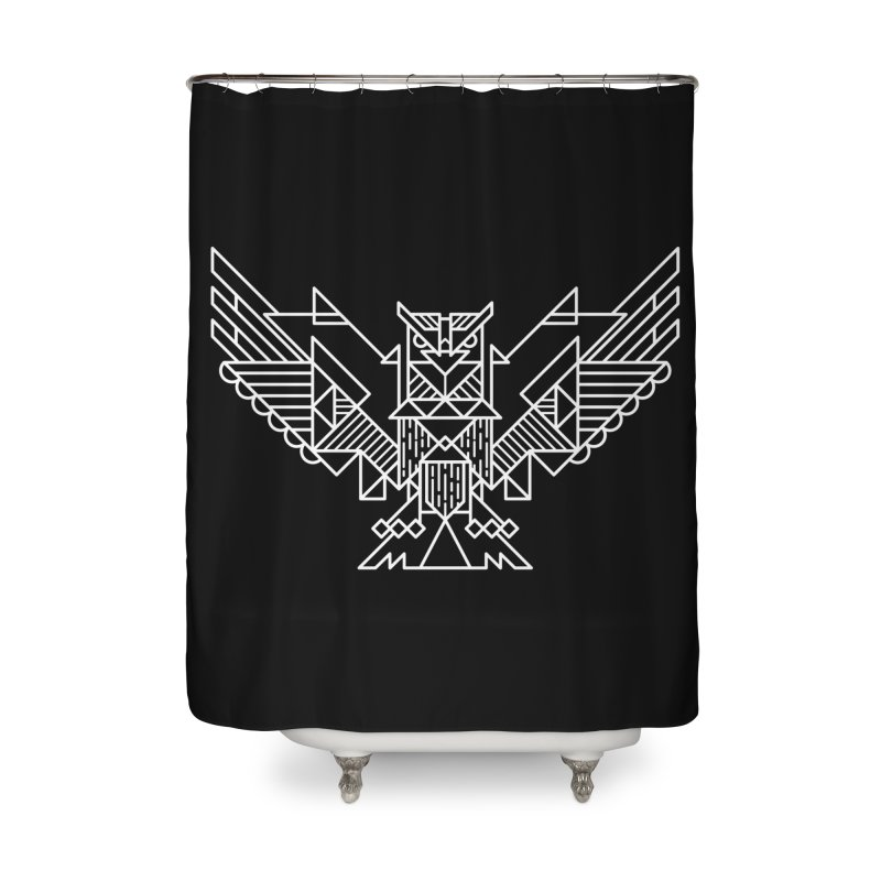 The Eagle Home Shower Curtain by TipTop's Artist Shop