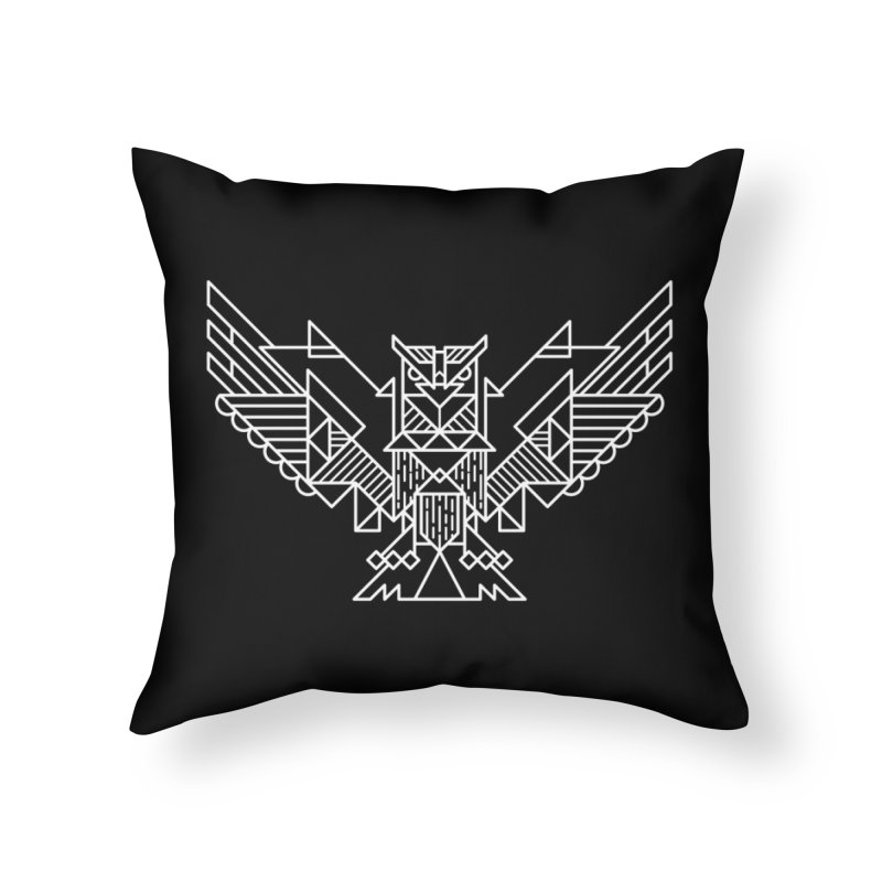 The Eagle Home Throw Pillow by TipTop's Artist Shop