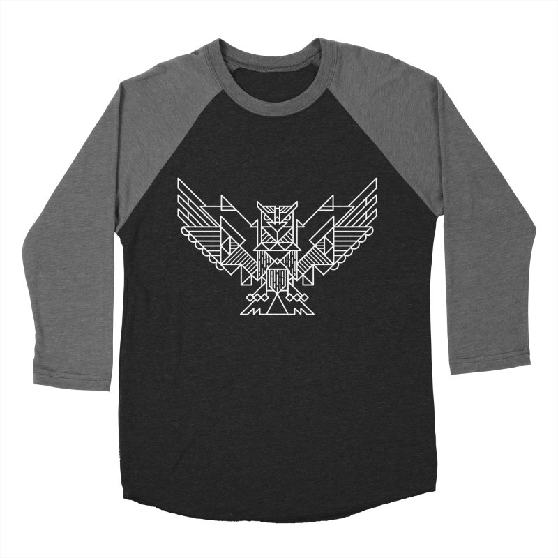 The Eagle Men's Baseball Triblend T-Shirt by TipTop's Artist Shop