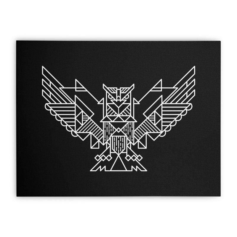 The Eagle Home Stretched Canvas by TipTop's Artist Shop