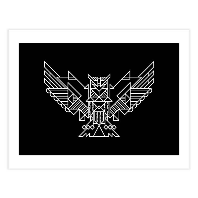 The Eagle Home Fine Art Print by TipTop's Artist Shop