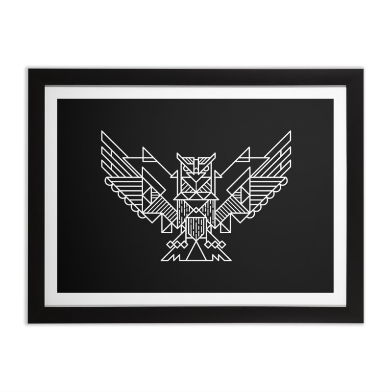 The Eagle Home Framed Fine Art Print by TipTop's Artist Shop