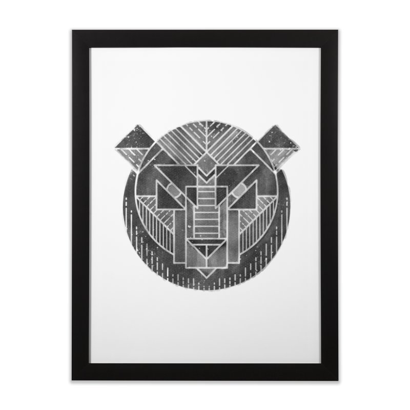 Grizzly Home Framed Fine Art Print by TipTop's Artist Shop