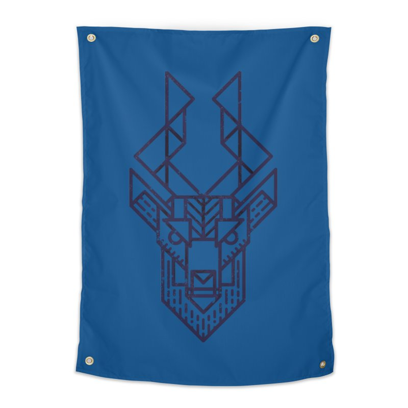 Mystic Stag Home Tapestry by TipTop's Artist Shop